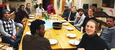 Les om vårt arbeid med mat med prat i Norge
